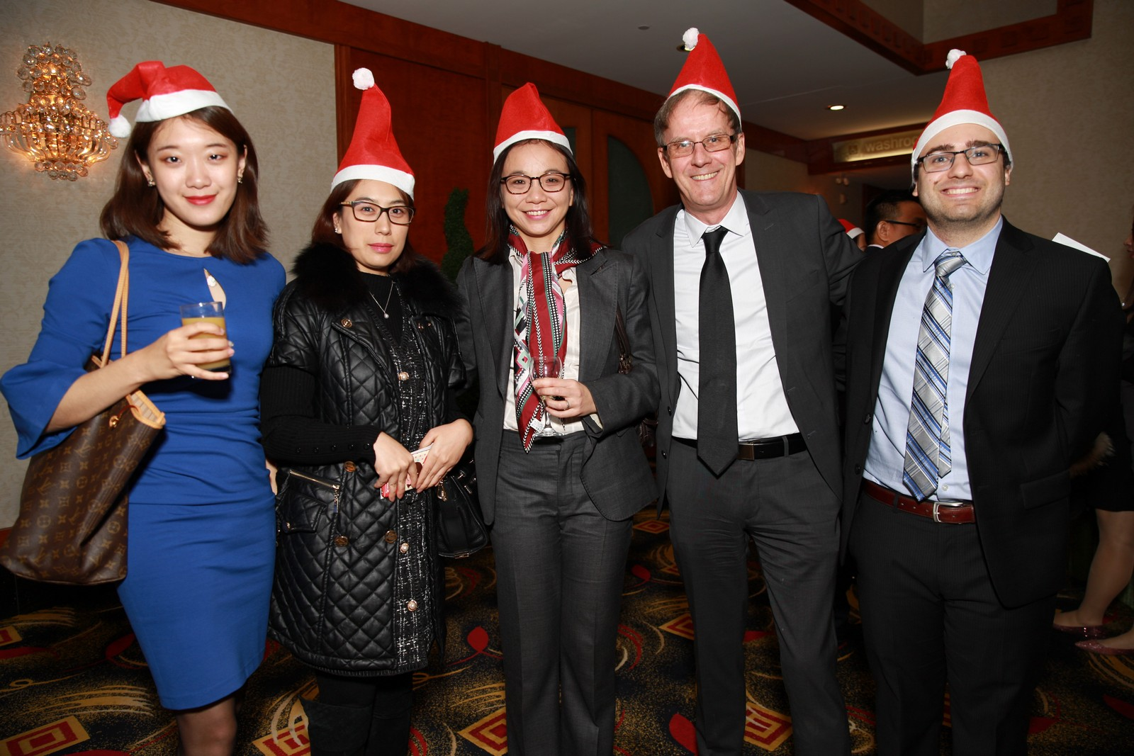 Hum Law Firm with friends at ACCE Christmas Party 2019
