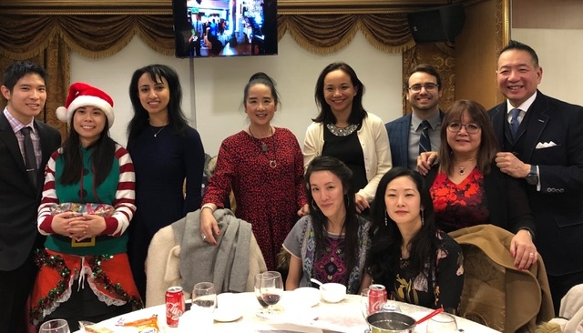 Hum Law Firm with friends at FCCP Christmas Party 2019