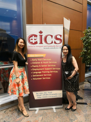 Hum Employment Lawyers at CICS Gala